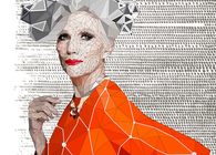 Portrait of Maye Musk!