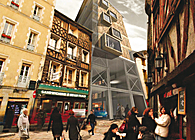 In straw we trust - L - Blue Award Internationnal Competition - Low-energy Housing, Rennes, France, 2010