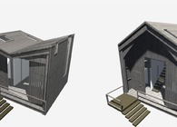 Changing Habit: a low impact system for temporary constructions