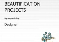 Beautification Projects - Landscape design