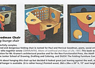 Folding Chair Art, for Ouch! The Folding Furniture Company