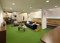 Tech Start-Up in an Eric Owen Moss complex in the Hayden Tract