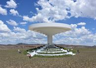 The Solar Rain Funneling Pavilion