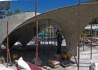 Zaha Hadid Concrete Shell