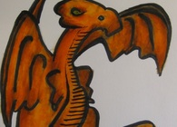 The Orange Dragon