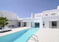 Summer house in Paros cyclades greece ... design by Logodotis  Art to fit