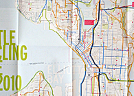 Seattle Bicycling Guide Map