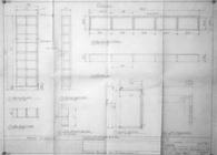 Gobillot/ Mc Swain Millwork Hand Drawings