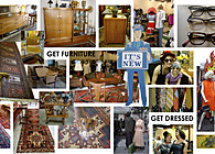 GET DRESSED- Vintage Clothing & Furniture Store