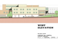 Hospital Facade Elevation