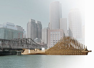 Northern Avenue Bridge, Pier and Multi-cultural Pavilion