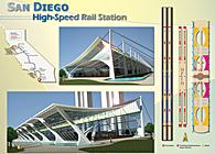 San Diego High Speed Rail Station-Long span Design