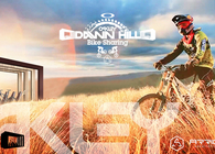 Oakley Down Hill Bike Sharing station - concept