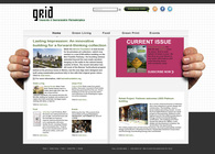 Website ReDesign for Grid Magazine