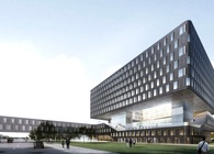 Aedas designs a postcard building for Novotel Hotel