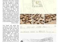 Urban Infill / Hostel+ Public Park