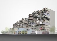 """Katrina Design Competition: High-Density on the High-Ground"""