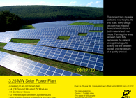 3.25 MW Solar Power Plant