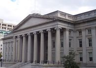 Main U.S. Department of Treasury, Washington, DC.