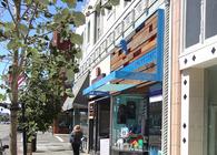 Monkey Bars Clothing Store Facade Design