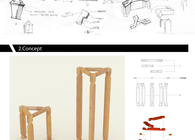 JIE / 解 – Experimental Chair Design