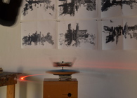A 3D laser scanner built with Arduino and Processing, plus scans of interior spaces, (2011).