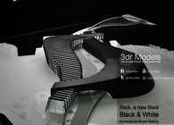 Black and White Scheme Model Making