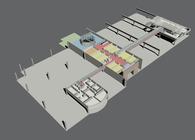 DESIGN FOR A PHARMACEUTICAL FACTORY EXTENSION AND INTERIOR RENEWAL