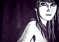 CHARCOAL DRAWINGS (Fall 2009)