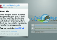 Social Network Business Card