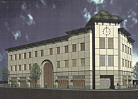 1998 800 California Street - Plans, Rendering, and Photograph (produced CD's)