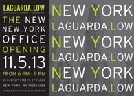 Laguarda.Low Architects Newly Designed NYC Offices