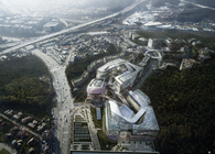 Winning design proposal I-Square in Seoul, South Korea, by Haeahn Architecture