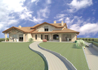 New villa
