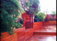 NYC Garden Design - Rooftop Zen Garden for Yoga Studio