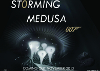 """""""STORMING MEDUSA""""- AND THE VILLAINS LAIR FOR JAMES BOND NO.24"""