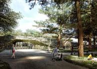 Garden of the 21st Century with Underground Exhibition Pavilion
