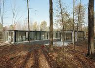 Binocular House by Michael Bell Architect