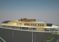 New school in S. Casciano Bagni, SIENA - ITALY