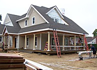 Residential home renovation