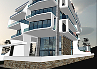 Apartment building in Alimos, Greece