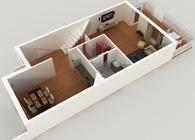 3D Floor Plan Design & Modeling