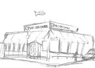 Newport Beach Scavenger Sketch