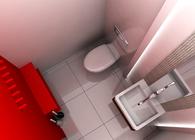 Bathroom in a private clinic