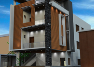 Residential Architecture - Design and Development for Mrs.Pradheepa Karthik at Chromepet
