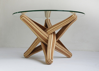 LOCK bamboo coffee table