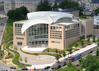 United States Institute of Peace Headquarters Building on the National Mall