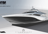 OCEAN 98 MOTOR YACHT - Concept design for MYDA 2013