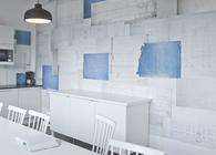 Walldesign for office in Stocholm