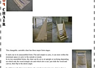 Vellum Competition: Flip Flop Chair